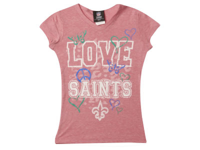 New Orleans Saints NFL Youth Girls Love Team T-Shirt