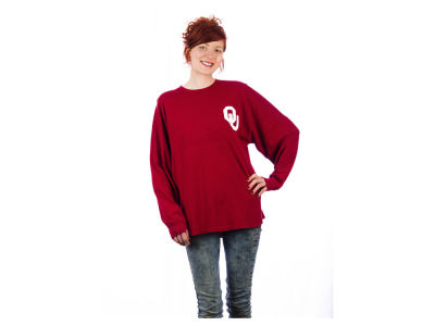 Oklahoma Sooners NCAA Ladies Sweeper Shirt
