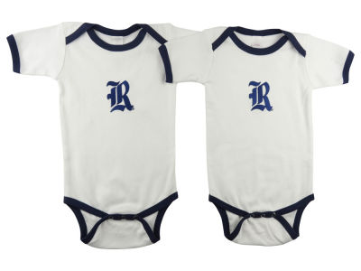 Rice Owls Atlanta Hosiery NCAA Infant 2 Pack Contrast Creeper