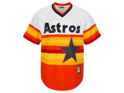 Houston Astros Majestic MLB Men's Cooperstown Blank Replica Cool Base Jersey