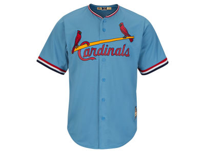 St. Louis Cardinals Majestic MLB Men's Cooperstown Blank Replica Cool Base Jersey