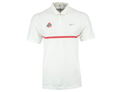 Ohio State Buckeyes Nike NCAA Men's TW Elite Cool Carbon Polo Shirt