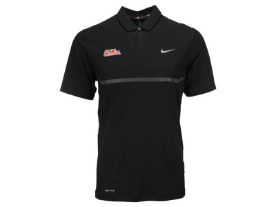 Ole Miss Rebels Nike NCAA Men's TW Elite Cool Carbon Polo Shirt