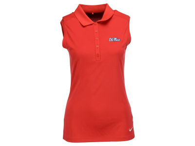 Ole Miss Rebels Nike NCAA Women's Victory Sleeveless Polo