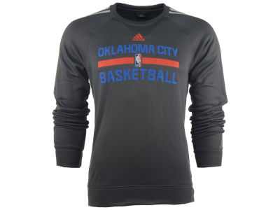 Oklahoma City Thunder adidas NBA Men's Practice Crew Sweatshirt