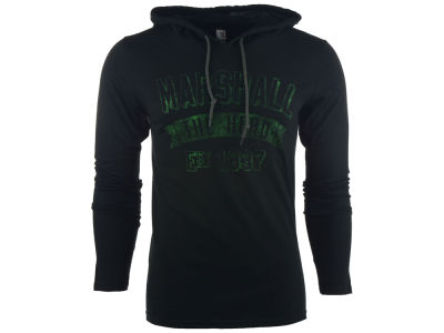 Marshall Thundering Herd NCAA Men's Varsity Arch Hooded T-Shirt