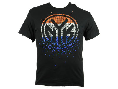New York Knicks NBA Men's Tetris T-Shirt