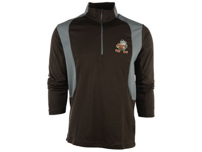Cleveland Browns NFL Men's Delta 1/4 Zip Pullover Shirt