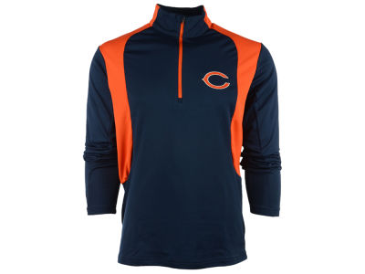 Chicago Bears NFL Men's Delta 1/4 Zip Pullover Shirt