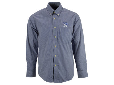 Memphis Tigers NCAA Men's Focus Woven Button Up Shirt