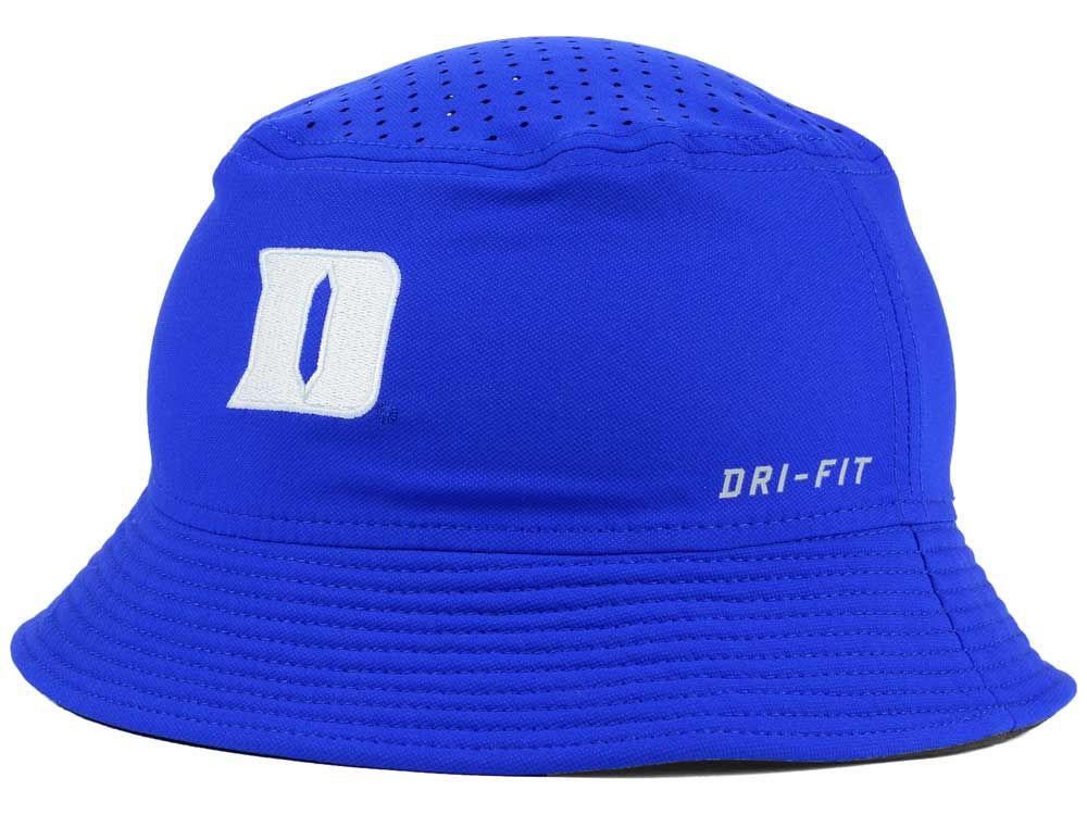 Duke Blue Devils Nike NCAA Vapor Bucket  a2987dd9186