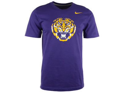 LSU Tigers Nike NCAA Men's Alternate Logo React T-Shirt