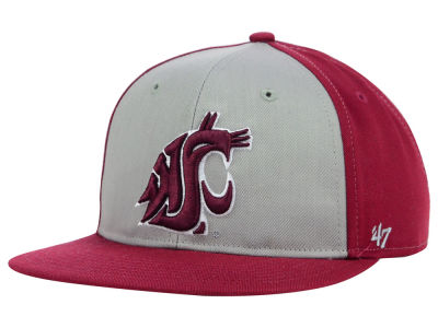 Washington State Cougars '47 NCAA Youth Kinnick Snapback Cap