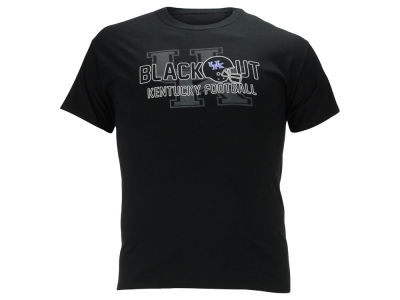 Kentucky Wildcats NCAA Men's Blackout Game 2014 T-Shirt