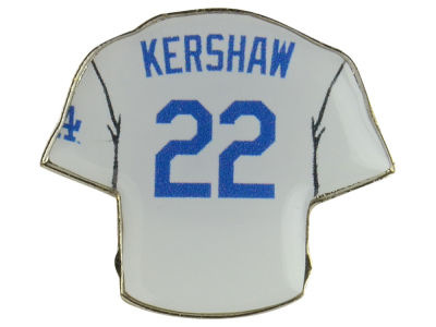 Los Angeles Dodgers Clayton Kershaw Aminco Jersey Pin
