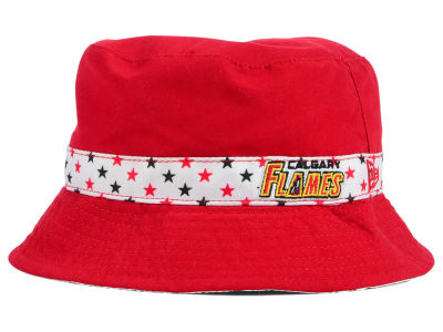 Calgary Flames New Era NHL Kids Reversible Bucket