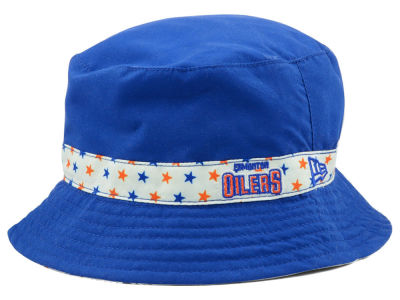 Edmonton Oilers New Era NHL Kids Reversible Bucket