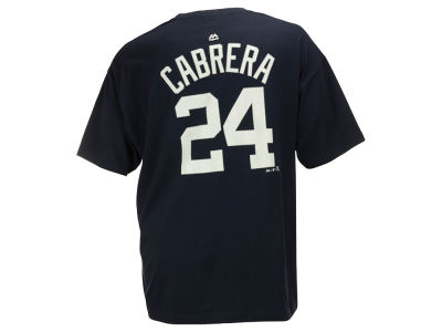 Detroit Tigers Miguel Cabrera MLB Men's Official Player 3XL-4XL T-Shirt