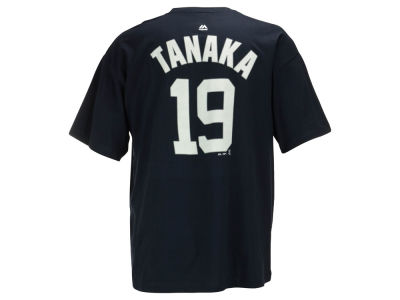 New York Yankees Masahiro Tanaka MLB Men's Official Player 3XL-4XL T-Shirt