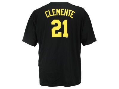Pittsburgh Pirates Roberto Clemente MLB Men's Cooperstown 3XL-4XL Player T-Shirt