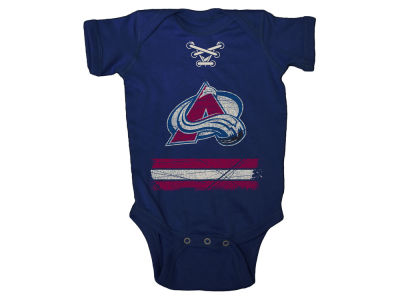 Colorado Avalanche NHL Infant Beeler Laces Creeper