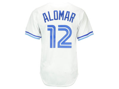 Toronto Blue Jays Roberto Alomar Majestic MLB Men's Cooperstown Player Replica CB Jersey