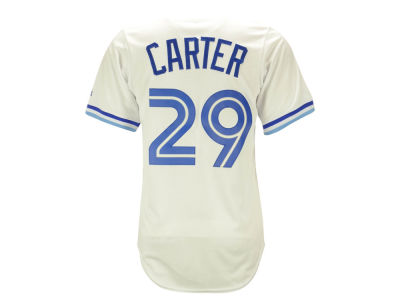 Toronto Blue Jays Joe Carter Majestic MLB Men's Cooperstown Player Replica CB Jersey
