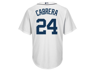 Detroit Tigers Miguel Cabrera Majestic MLB Men's Player Replica CB Jersey