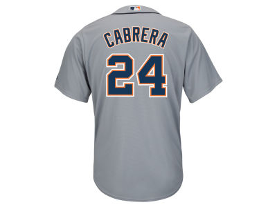 Detroit Tigers Miguel Cabrera Majestic MLB Men's Player Replica Cool Base Jersey