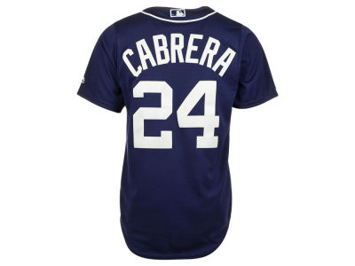 Detroit Tigers MIGUEL CABRERA MLB Men's Player Replica Cool Base Jersey
