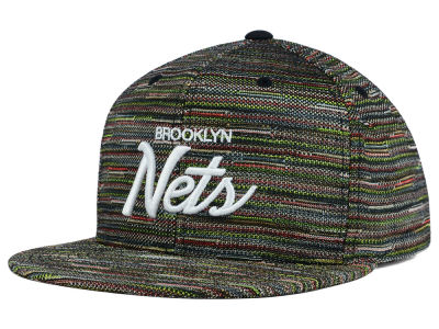 Brooklyn Nets Mitchell and Ness NBA Space Fly Snapback Cap