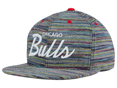 Chicago Bulls Mitchell and Ness NBA Space Fly Snapback Cap