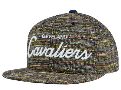 Cleveland Cavaliers Mitchell and Ness NBA Space Fly Snapback Cap