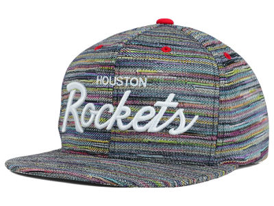 Houston Rockets Mitchell and Ness NBA Space Fly Snapback Cap