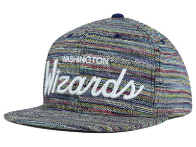 Washington Wizards Mitchell and Ness NBA Space Fly Snapback Cap