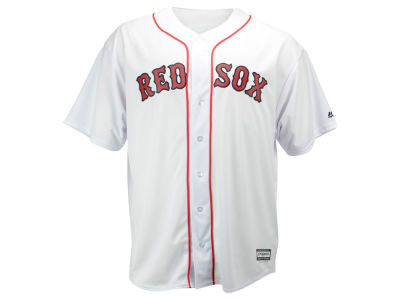 Boston Red Sox Majestic MLB Men's Blank Replica Cool Base Big & Tall Jersey