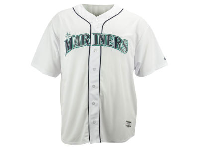 Seattle Mariners MLB Men's Blank Replica Cool Base Big & Tall Jersey