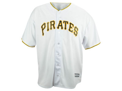 Pittsburgh Pirates MLB Men's Blank Replica Cool Base Big & Tall Jersey