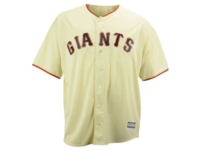 San Francisco Giants Majestic MLB Men's Blank Replica Cool Base Big & Tall Jersey