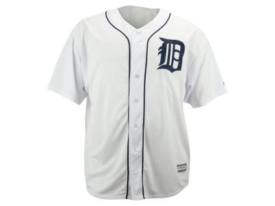 Detroit Tigers Majestic MLB Men's Blank Replica Cool Base Big & Tall Jersey