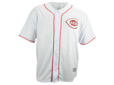 Cincinnati Reds MLB Men's Blank Replica Cool Base Big & Tall Jersey