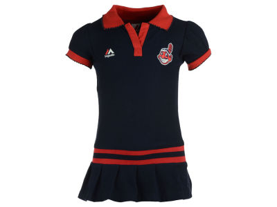 Cleveland Indians MLB Toddler Polo Dress