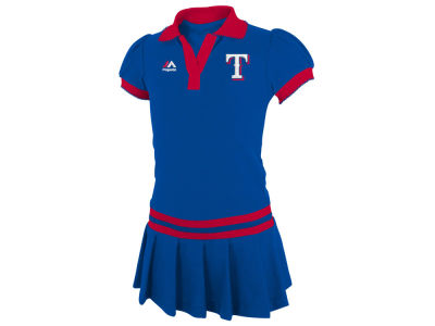 Texas Rangers MLB Toddler Polo Dress