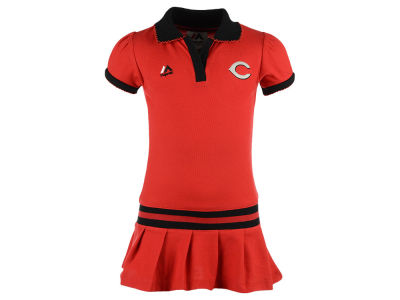 Cincinnati Reds MLB Toddler Polo Dress