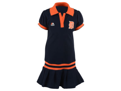 Detroit Tigers MLB Toddler Polo Dress