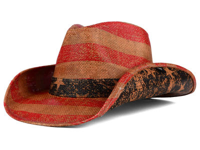Peter Grimm Patriot Drifter Cowboy Hat