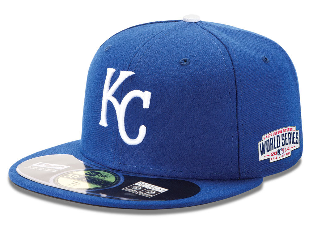 a3742683d40 Kansas City Royals New Era MLB 2014 World Series AC 59FIFTY Patch Cap