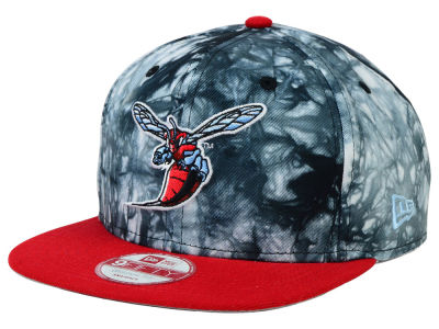 Delaware State Hornets New Era NCAA Overcast 9FIFTY Snapback Cap