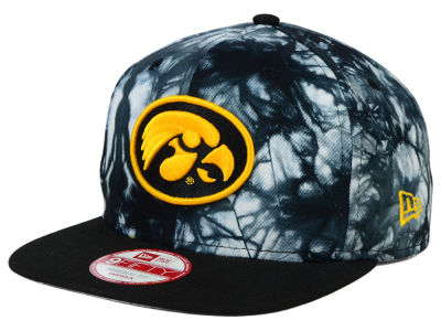 Iowa Hawkeyes New Era NCAA Overcast 9FIFTY Snapback Cap