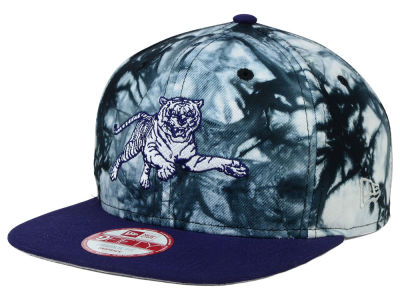 Jackson State Tigers New Era NCAA Overcast 9FIFTY Snapback Cap